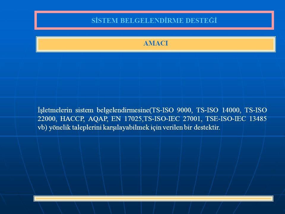 38 472 YTL'lik hizmet bedelinin 400 YTL'si KOSGEB tarafından karşılanmaktadır.