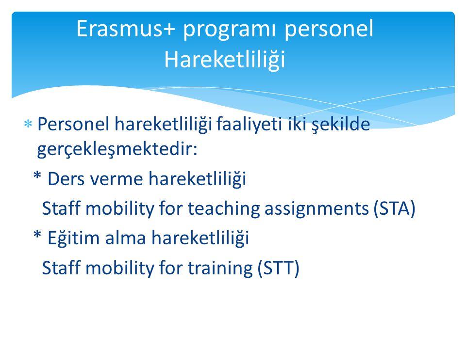  EÜB sahibi yükseköğretim kurumlarında çalışan akademik personelin EÜB sahibi yükseköğretim kurumlarında ders vermesine imkan sağlayan faaliyet alanıdır.