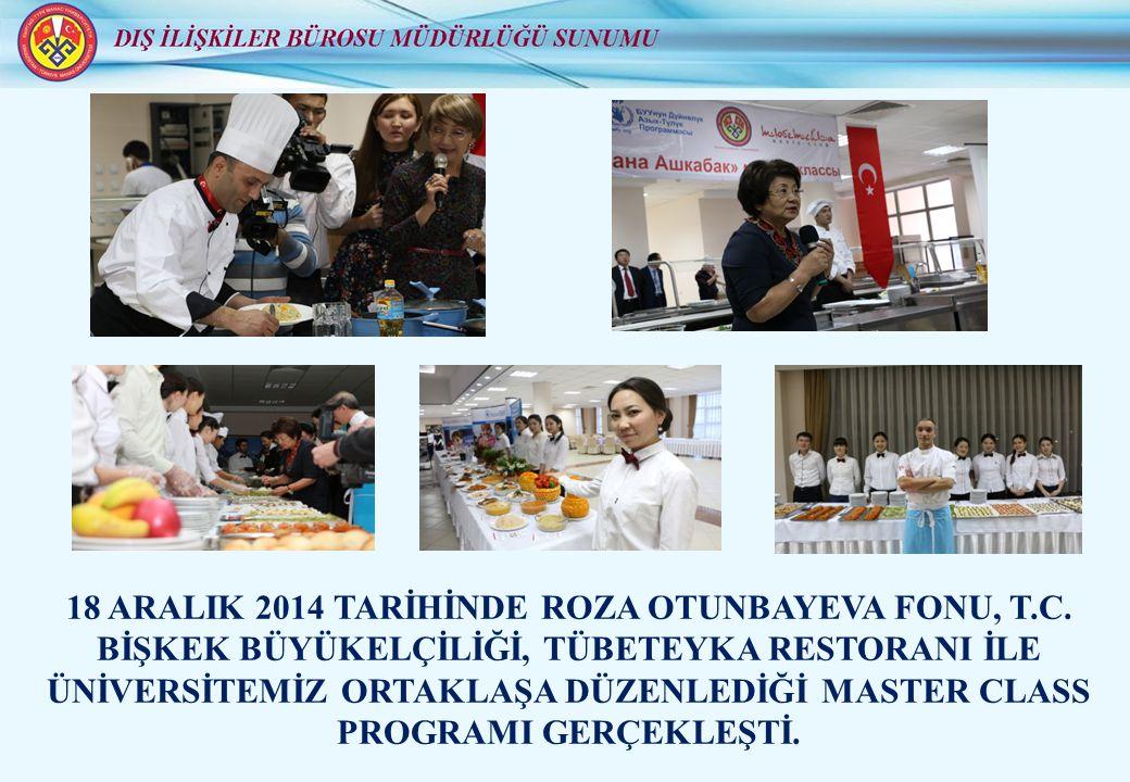24 ARALIK 2014 TARİHİNDE DÜNYA AZERBAYCANLILAR DAYANIŞMA GÜNÜ ÜNİVERSİTEMİZDE DÜZENLENDİ.