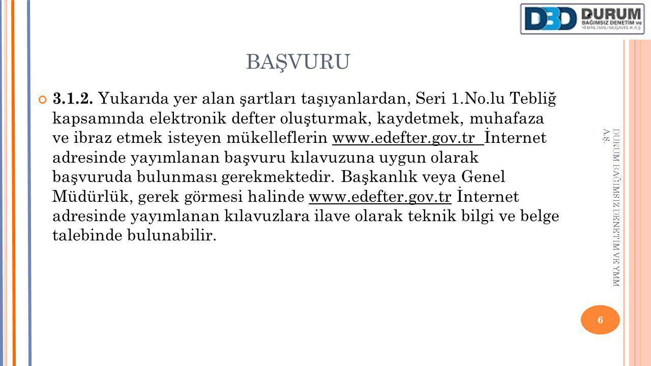 BAŞVURU 3.1.2.