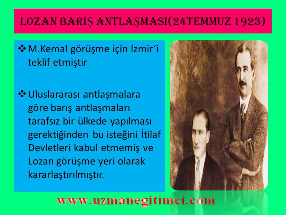 ATE Ş KES ANTLA Ş MASININ ÖNEM İ  Osmanlı Devleti'nin başkenti olan İstanbul'un ve Boğazlar'ın TBMM'ye bırakılması ile Osmanlı Devleti hukuken sona e