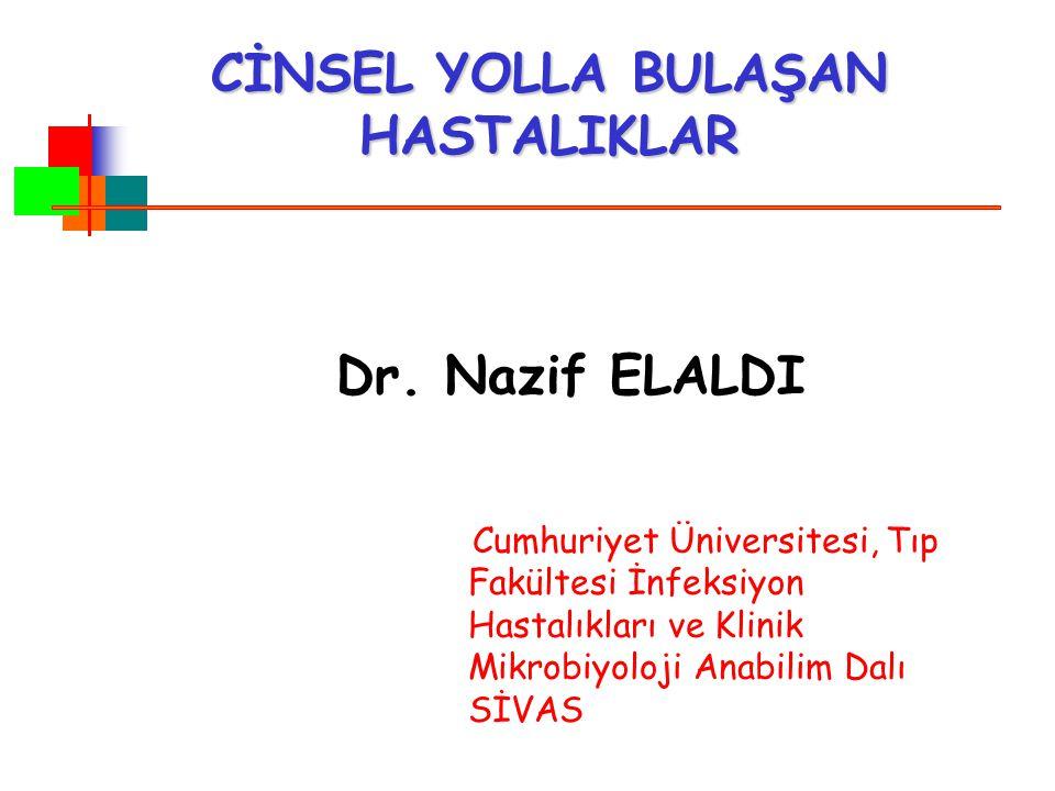SİFİLİZ'DE KLİNİK BELİRTİ VE BULGULAR 1.