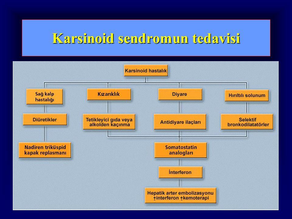 Karsinoid sendromun tedavisi