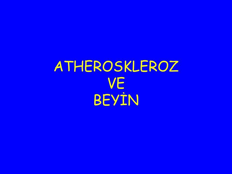 ATHEROSKLEROZ VE BEYİN
