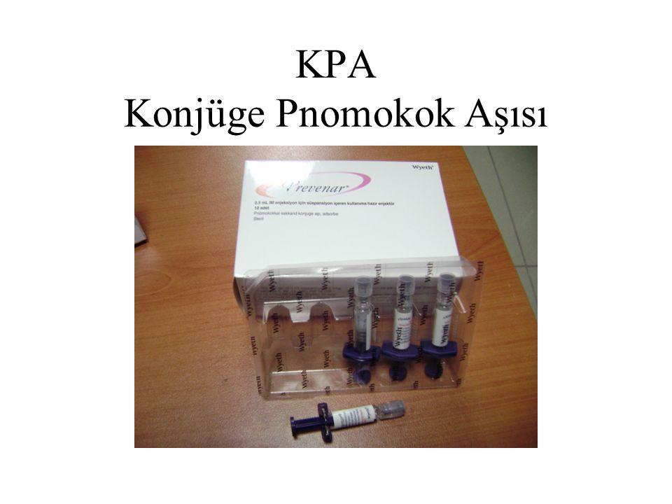 KPA Konjüge Pnomokok Aşısı