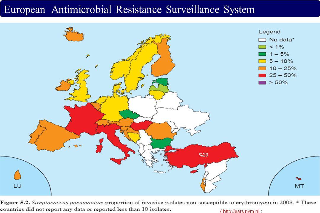 %34 European Antimicrobial Resistance Surveillance System %9 ( http://ears.rivm.nl( http://ears.rivm.nl )