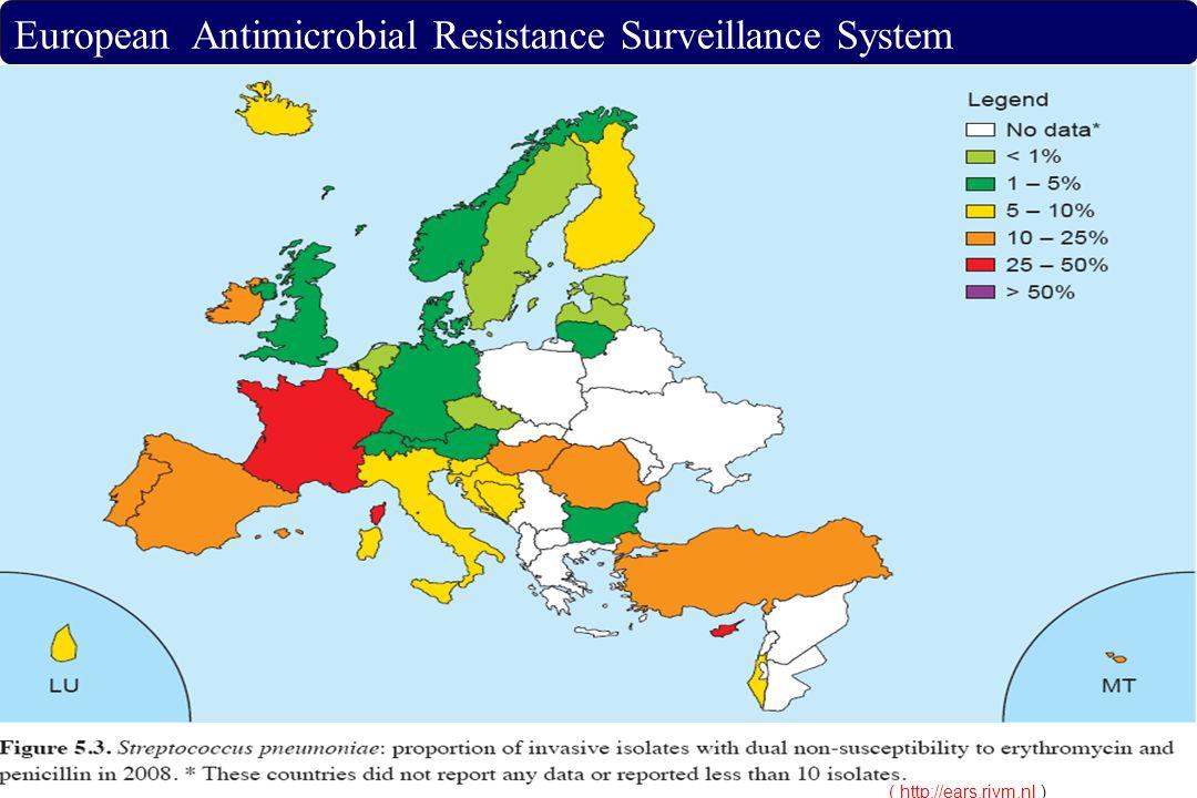 ( http://ears.rivm.nl( http://ears.rivm.nl ) European Antimicrobial Resistance Surveillance System