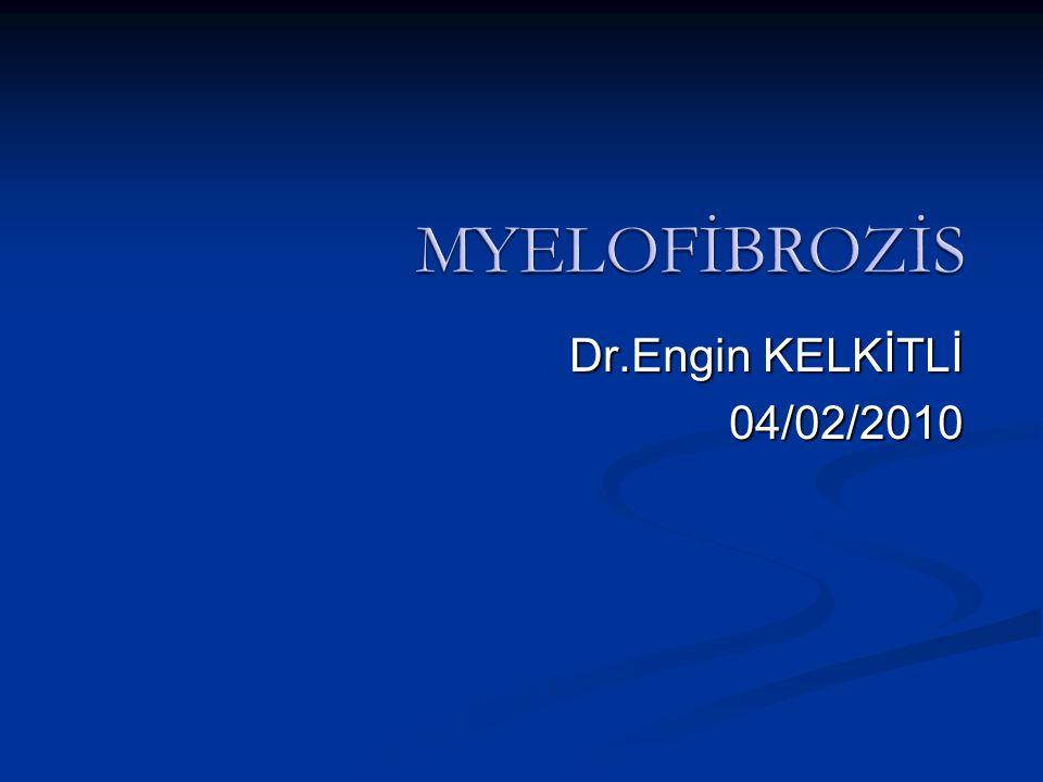 Primer myelofibrozis (PMF) başlıca kronik myeloproliferasyon, ve atipik megakaryositik hiperplazi ile sonuçlanan klonal, hematopoietik stem cell bozukluğudur.