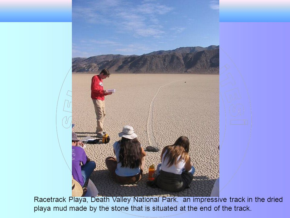 Racetrack Playa, Death Valley National Park.