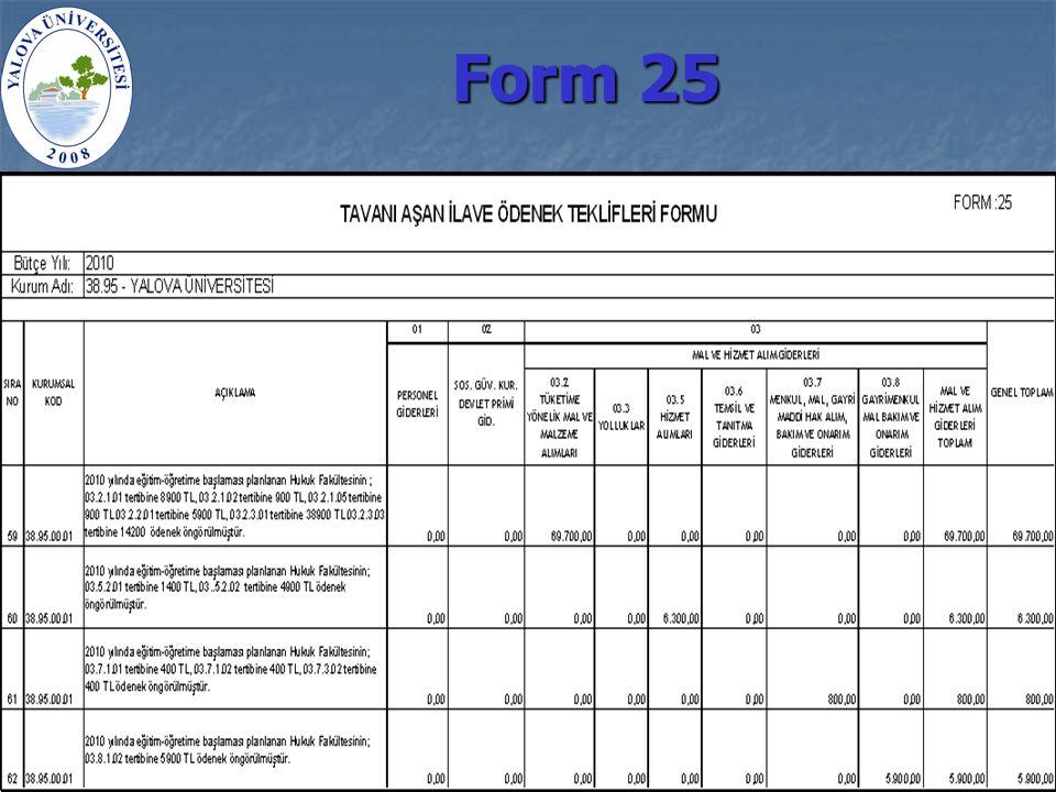 Form 25