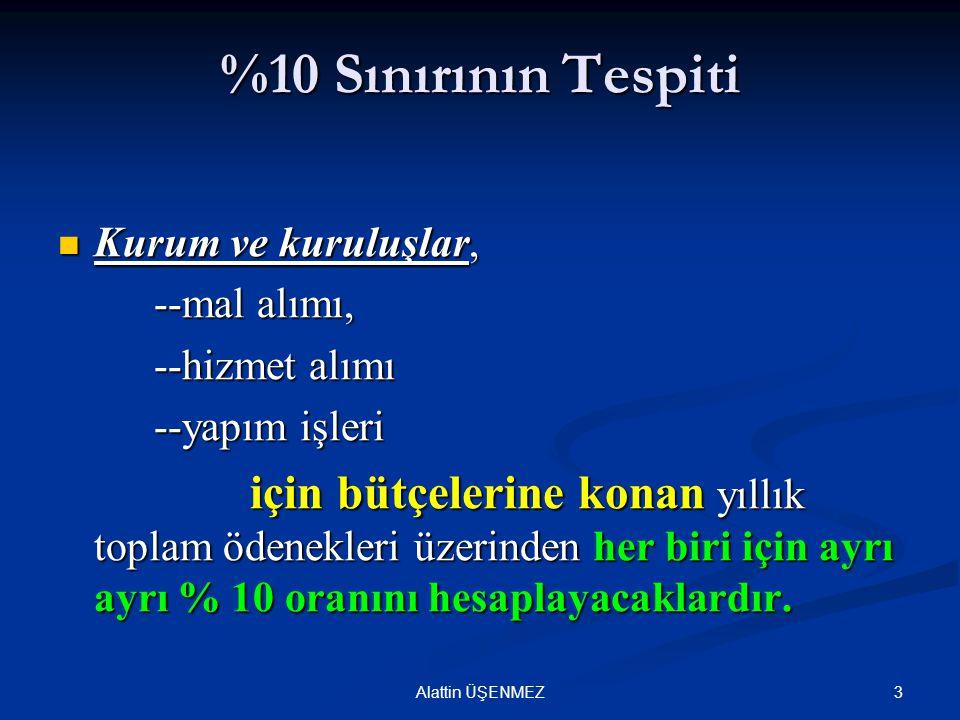 EKAP'tan (22/d) Kapsamında Yasaklılık Teyidi 34Alattin ÜŞENMEZ