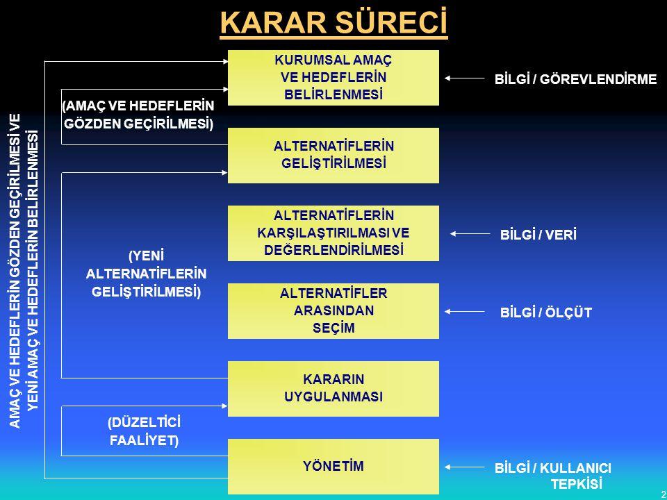 ORGANİZASYON SİSTEMLERİ DÜŞÜNEN ORGANİZASYON 3.AŞAMA: PROJE ORG.