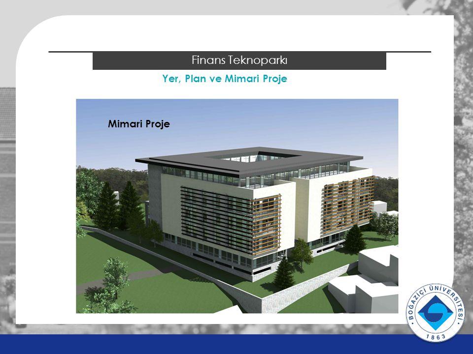 2014 ÖSYS Sonuçları Finans Teknoparkı Yer, Plan ve Mimari Proje Mimari Proje v v