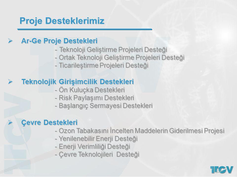  Ar-Ge Proje Destekleri - Teknoloji Geliştirme Projeleri Desteği - Teknoloji Geliştirme Projeleri Desteği - Ortak Teknoloji Geliştirme Projeleri Dest