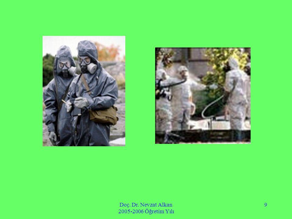 Doç. Dr. Nevzat Alkan 2005-2006 Öğretim Yılı 9
