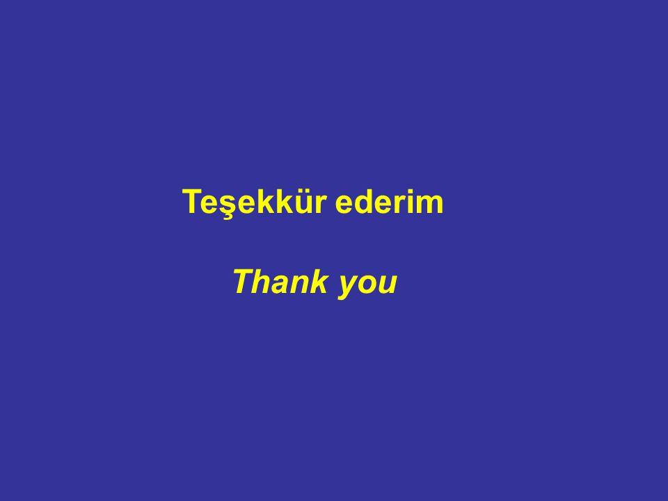 Teşekkür ederim Thank you