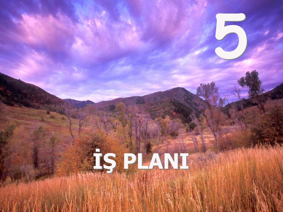 5 İŞ PLANI 5 İŞ PLANI