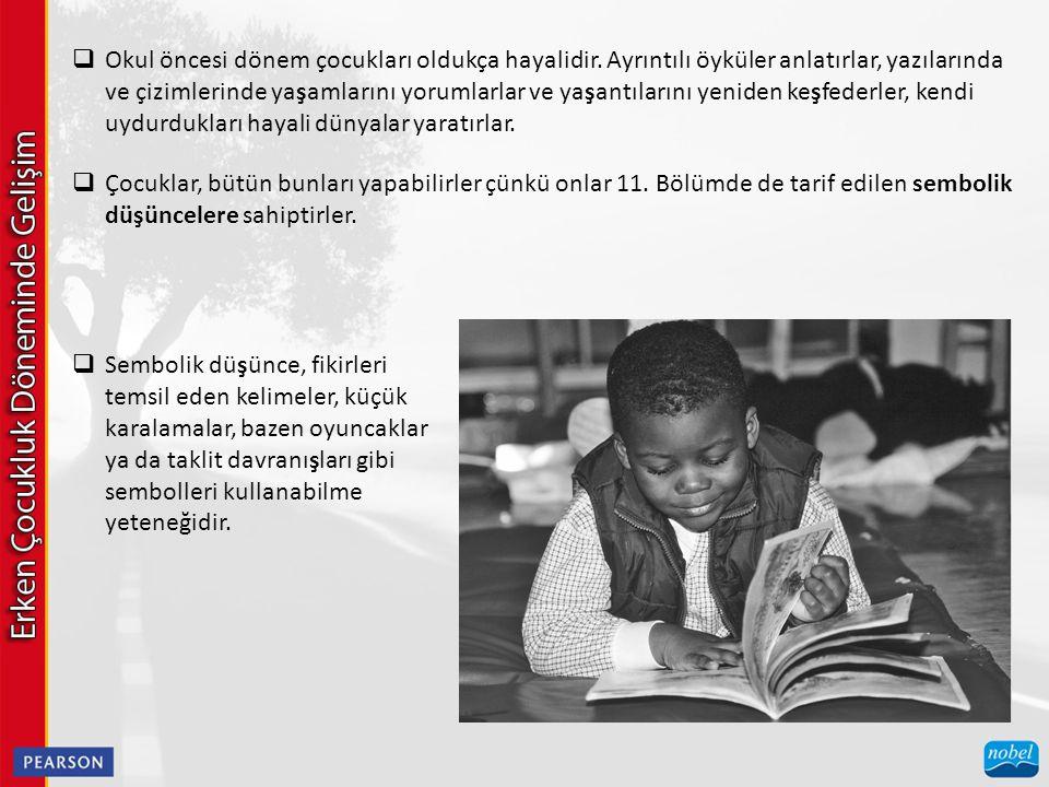 TABLO 12–2 Kız ve Erkekler İçin Belirli Konuşma Seslerinin Tipik Sırası  SEMANTİK  Okul öncesi dönemdeki çocukların semantikleri –kelimelerin anlamlarını bilmeleri– hızlı bir şekilde gelişmektedir.