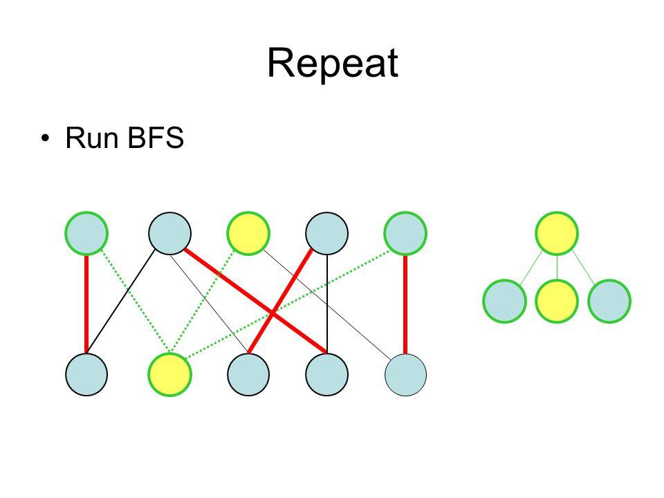Repeat Run BFS