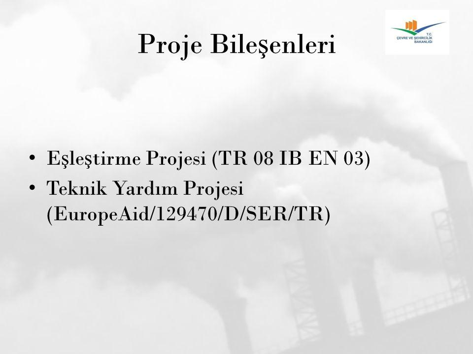 Proje Bile ş enleri E ş le ş tirme Projesi (TR 08 IB EN 03) Teknik Yardım Projesi (EuropeAid/129470/D/SER/TR)