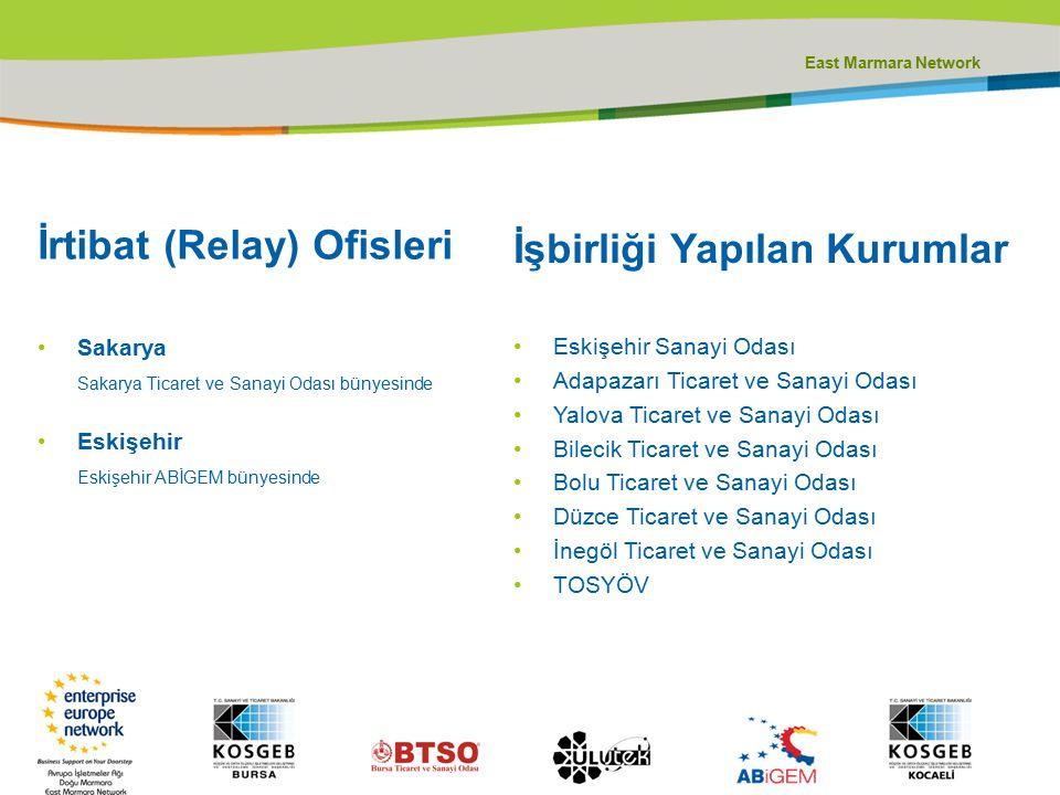 Teşekkürler Avrupa İşletmeler Ağı Doğu Marmara