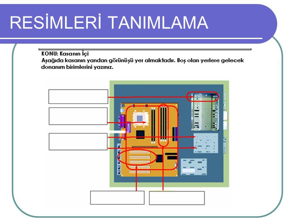 RESİMLERİ TANIMLAMA