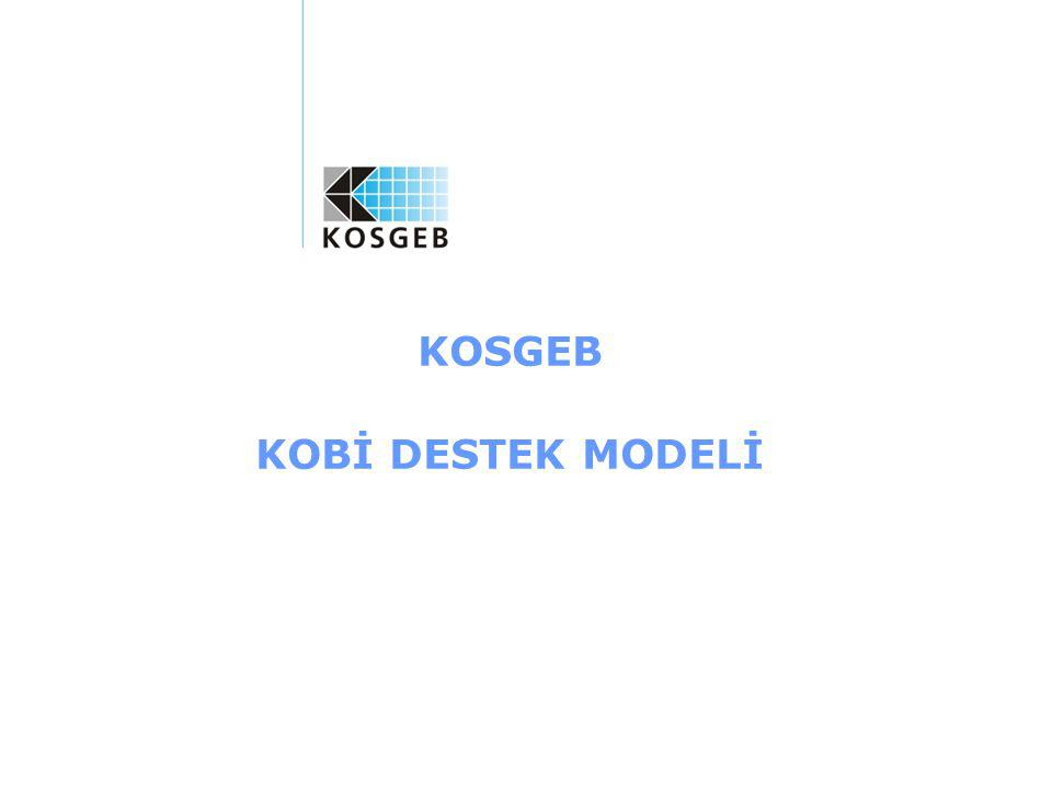 KOSGEB KOBİ DESTEK MODELİ