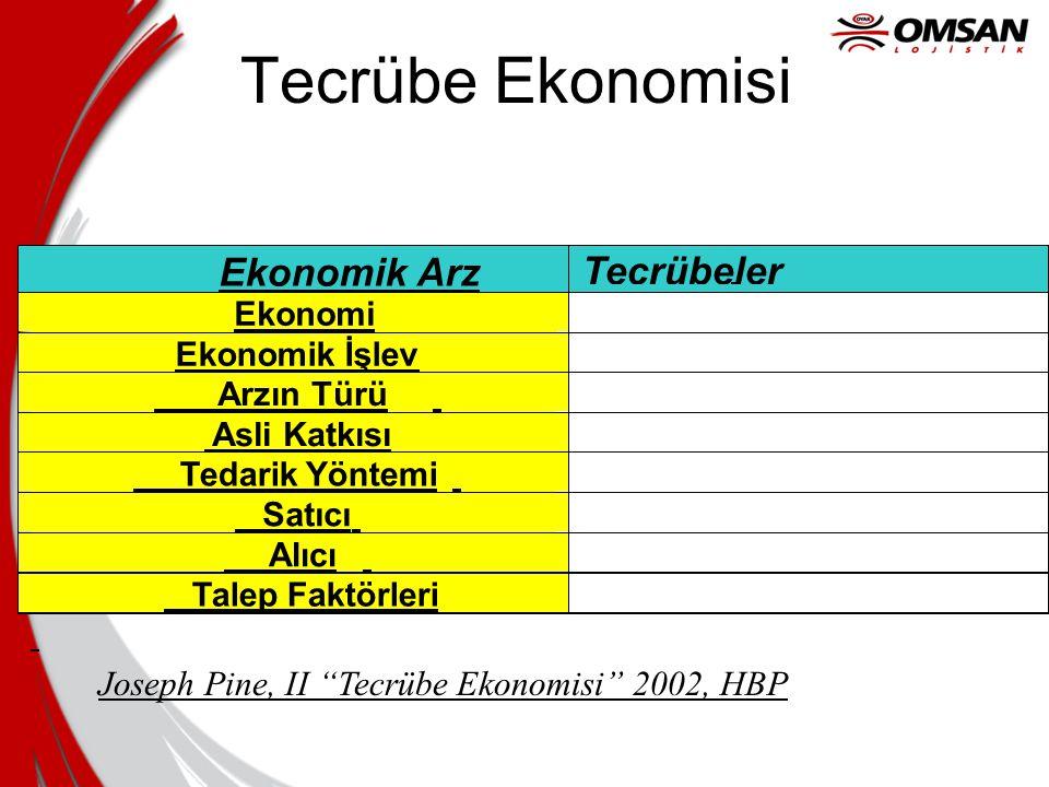 "Tecrübe Ekonomisi Joseph Pine, II ""Tecrübe Ekonomisi"" 2002, HBP"