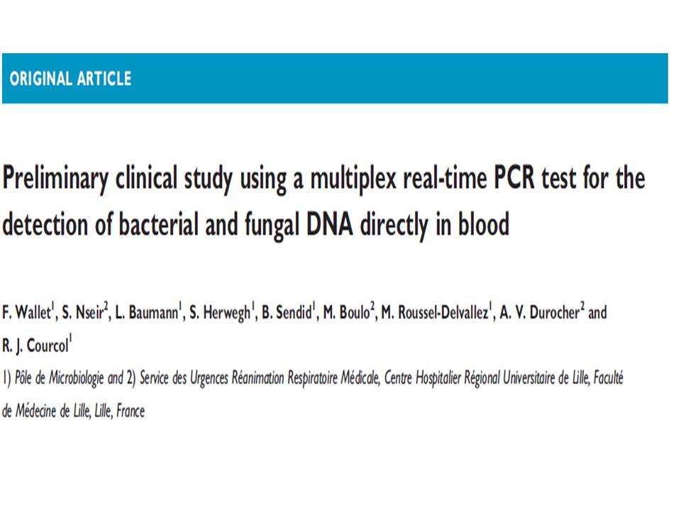 Mevcut çalışma, günlük uygulamada geleneksel kan kültürü ile kıyaslanan bu multiplex real-time PCR kitini kullanan ve kanlarında şüpheli infeksiyonla YBÜ' ye kabul edilen hastalarla gerçekleştirilmiş prospektif ve gözleme dayalı bir çalışmadır