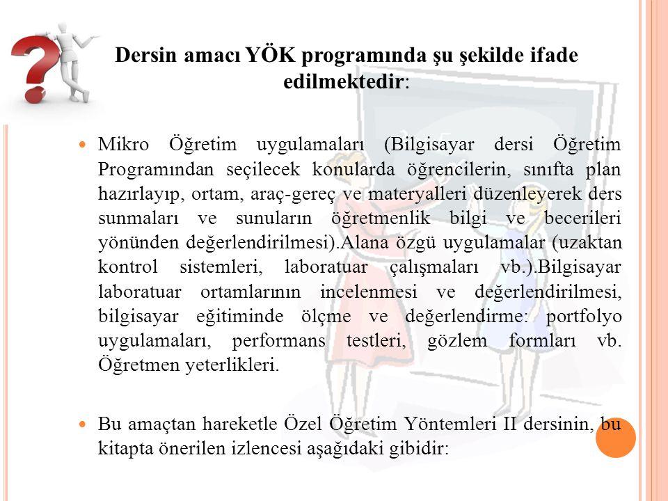 Ö ZEL Ö ĞRETIM Y ÖNTEMLERI II 1.