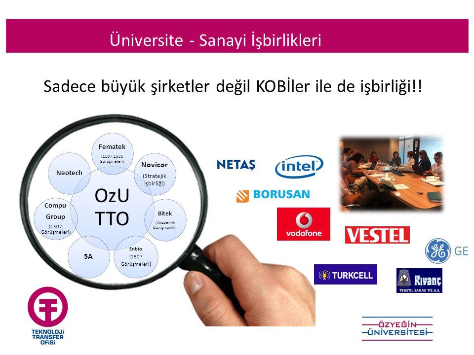 Sadece büyük şirketler değil KOBİler ile de işbirliği!!!.