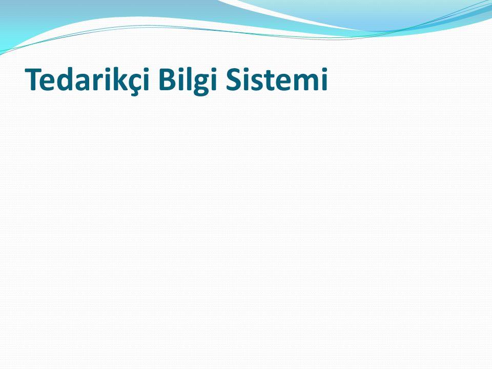 Tedarikçi Bilgi Sistemi