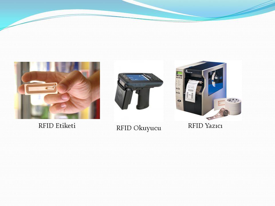 RFID Etiketi RFID Okuyucu RFID Yazıcı