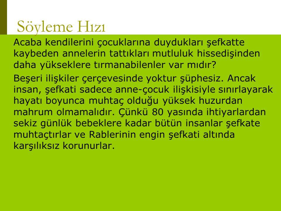 www.turkceciler.com Acaba kendilerini çocuklarına duydukları şefkatte kaybeden annelerin tattıkları mutluluk hissedişinden daha yükseklere tırmanabile