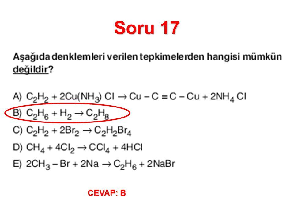 Soru 17 CEVAP: B