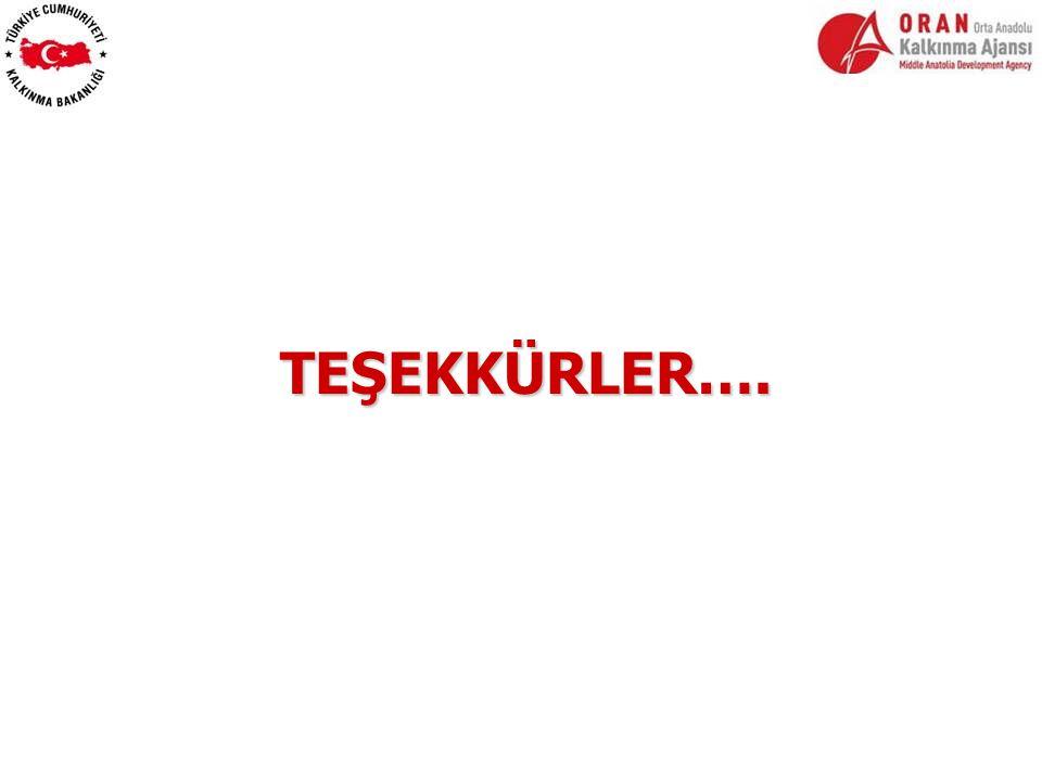 TEŞEKKÜRLER….