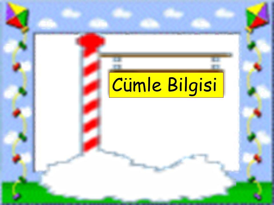 www.sorubak.com Cümle Bilgisi