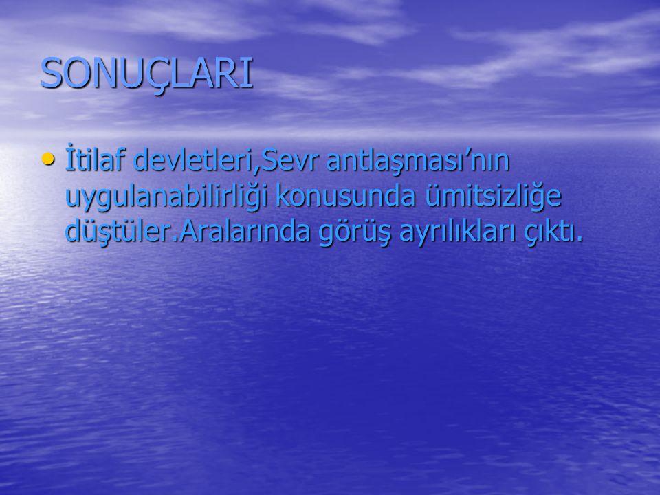 21.SORU 21.SORU Türk birliklerinin direnişini kırarak antlaşmayı kabul ettirmeyi isteyen hangi devletler yeniden saldırıya geçmesini denediler.