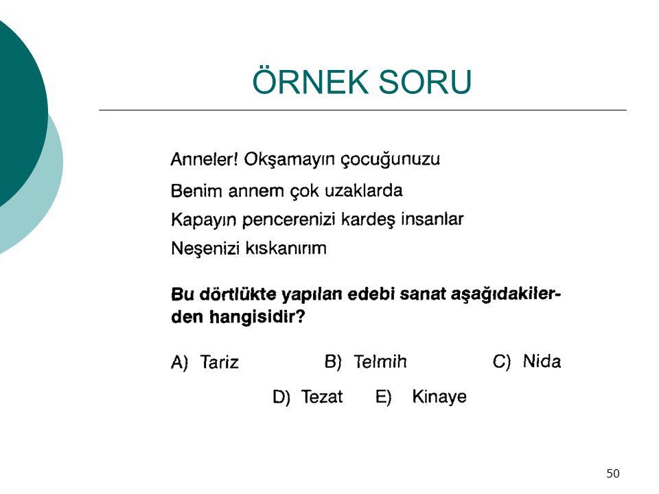 ÖRNEK SORU 50
