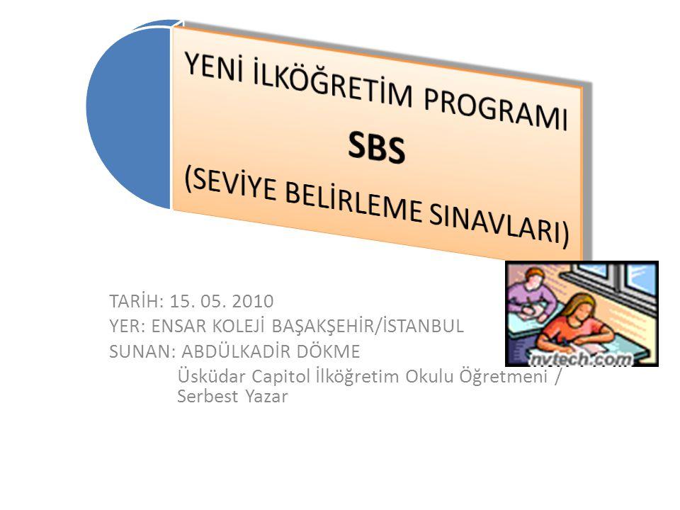 İlköğretim İngilizce Programları Kasım 1991 – 2347 STD / 6-7-8. Sınıflar