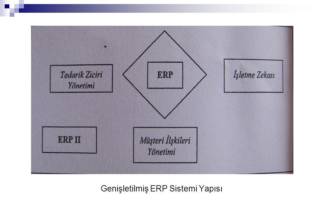Genişletilmiş ERP Sistemi Yapısı