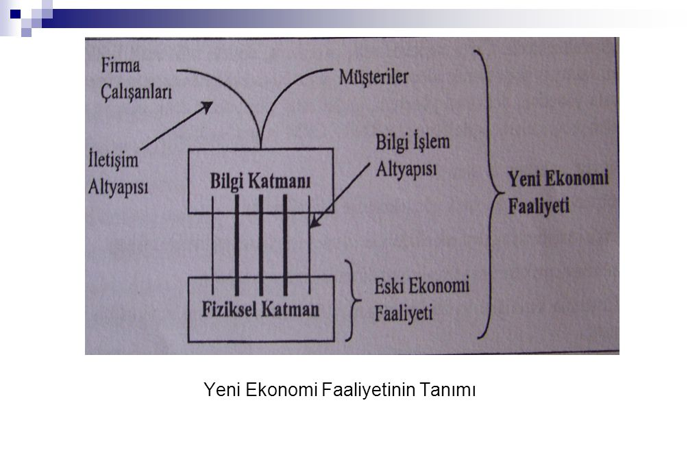 Yeni Ekonomi Faaliyetinin Tanımı