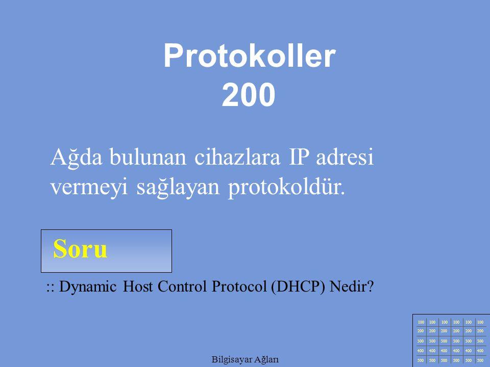 Bilgisayar Ağları Soru 100 200 300 400 500 Bilgisayar Ağları :: Zenginleştirilmiş Metin Aktarım Protokolü – Hyper Text Transfer Protocol (HTTP) Nedir.