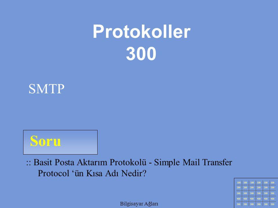 Bilgisayar Ağları Soru 100 200 300 400 500 Bilgisayar Ağları :: Dynamic Host Control Protocol (DHCP) Nedir.