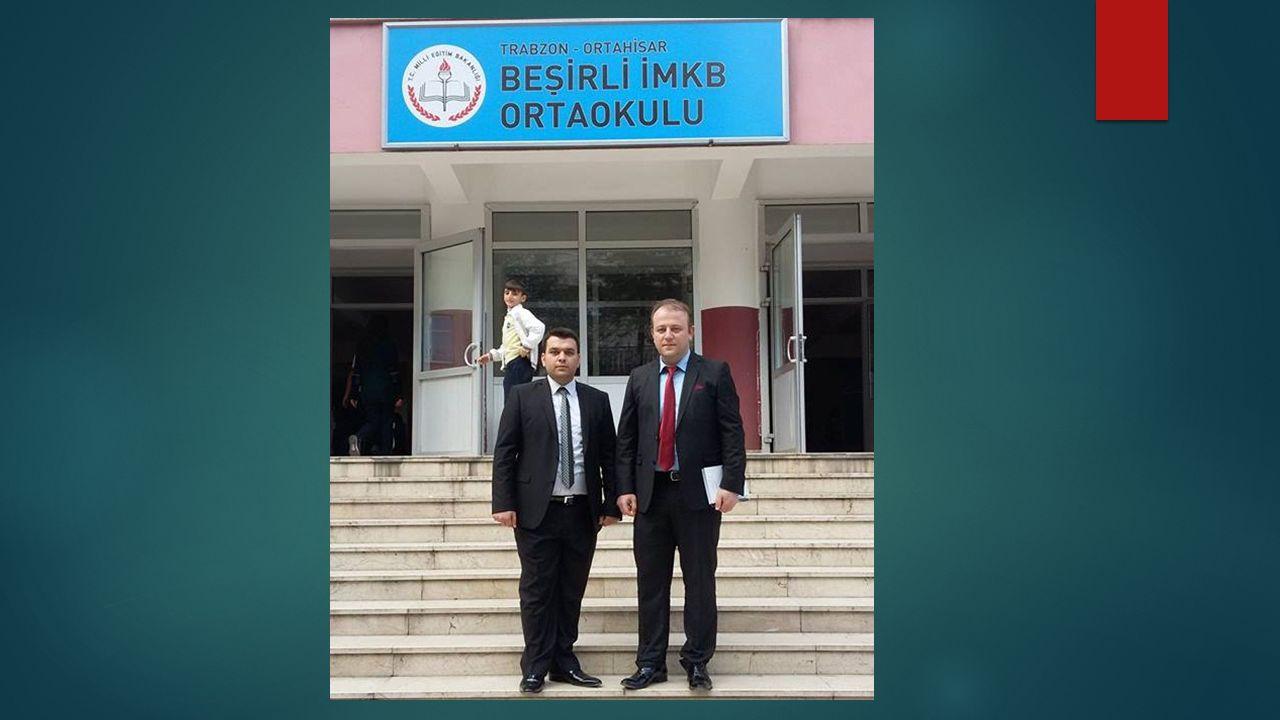 BEŞİRLİ İMKB ORTAOKULU Okul müdürü sayın İbrahim KALYONCU tarafından yapılan görüşmede projenin tanıtımı yapıldı.