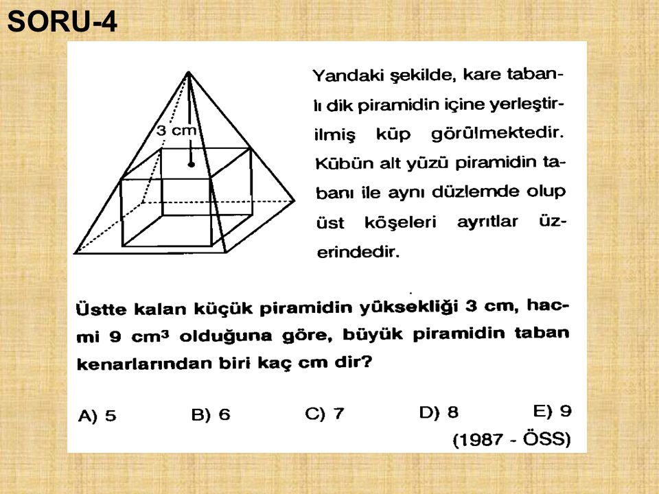 a a a a=3 SORU-4