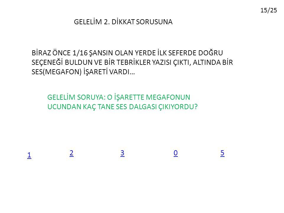GELELİM 2.