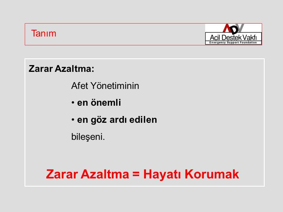 Zarar Azaltma: Afet Yönetiminin en önemli en göz ardı edilen bileşeni.