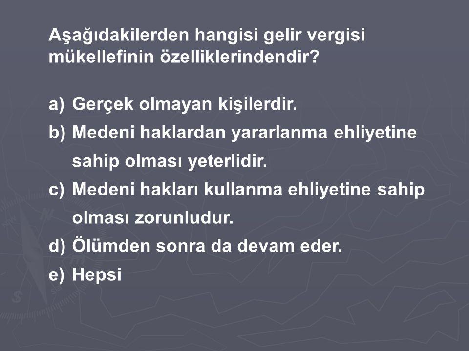TİCARİ KAZANCIN TESPİTİNDE GİDER KABUL EDİLMEYEN ÖDEMELER 1.