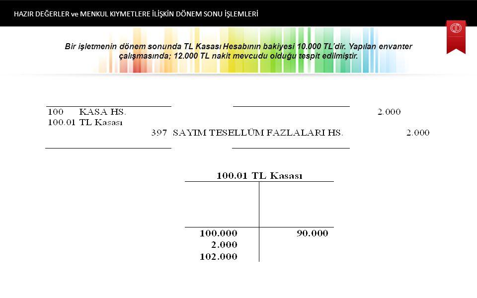 Kasa Sayım Fazlalığının Nedenleri Dönem içinde belge üzerinde belirtilen tutardan daha az ödeme yapılması.